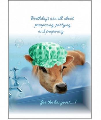 Birthday Card Bubble Bath