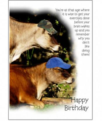 Birthday Card Exercises