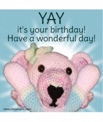 Jolly Jangles Birthday Card...