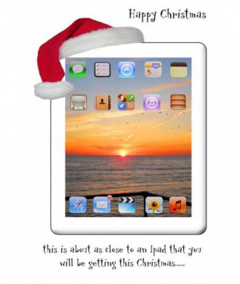 Christmas Card IPAD