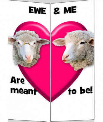 Valentine's Day Card Ewe...
