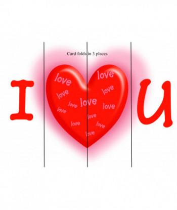 Valentine's Day Card I Love...