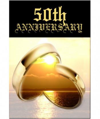 Anniversary Card 50th