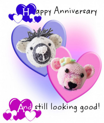 Anniversary Card Jolly...