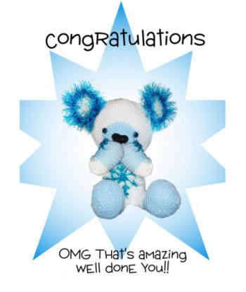 Congratulations Card Jolly...