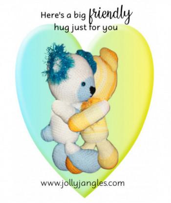 Friendship Card Jolly Jangles