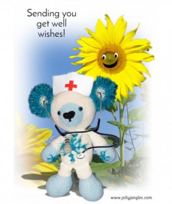 Get Well Card Jolly Jangles...
