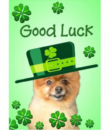 Good Luck Card Dog GL02