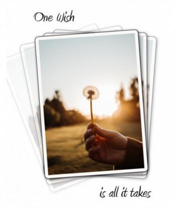 Inspirational Card A Wish