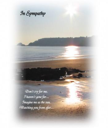 Sympathy Card DCF01