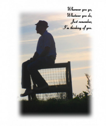 Thinking About You Card WYG01