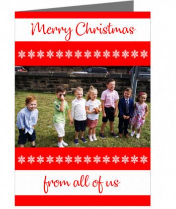 Personalised Card Family Photo