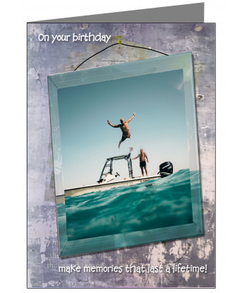 Personalised Son Birthday Card