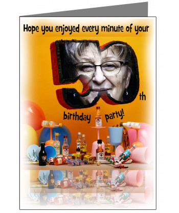 050-Personalised 50th...