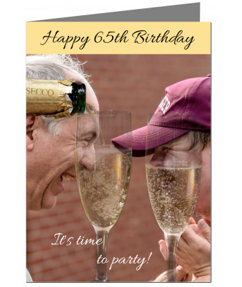 065-Personalised 65th...