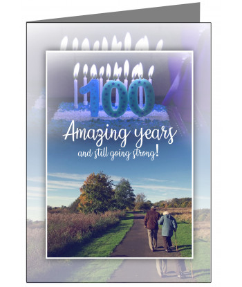 100-Personalised 100th...