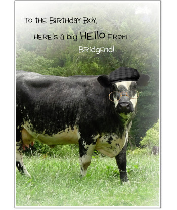 Birthday Card From Wales