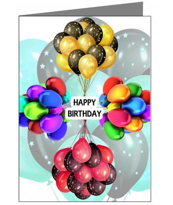 Birthday Card Aquaintance