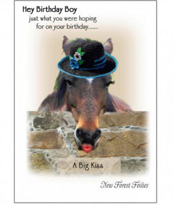 Birthday Card Horse WW1